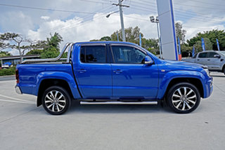 2016 Volkswagen Amarok 2H MY17 TDI550 4MOTION Perm Ultimate Ravenna Bl 8 Speed Automatic Utility