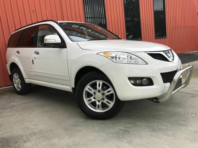 Used Great Wall X200 K2 MY12 Molendinar, 2012 Great Wall X200 K2 MY12 White 5 Speed Automatic Wagon