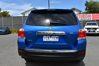 2012 Toyota Kluger GSU40R MY12 KX-R 2WD Blue 5 Speed Sports Automatic Wagon