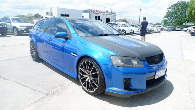 Used Holden Commodore VE MY09.5 SV6 Sportwagon St James, 2009 Holden Commodore VE MY09.5 SV6 Sportwagon Blue 5 Speed Sports Automatic Wagon