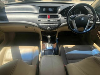 2008 Honda Accord 8th Gen VTi-L White 5 Speed Sports Automatic Sedan