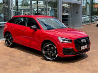 2020 Audi Q2 GA MY20 35 TFSI S Tronic Edition #2 Tango Red 7 Speed Sports Automatic Dual Clutch.