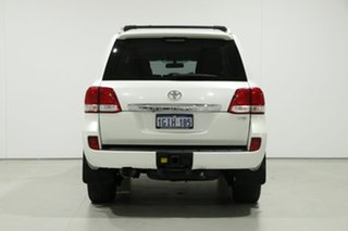 2010 Toyota Landcruiser UZJ200R 09 Upgrade 60th Anniversary L.E. White 5 Speed Automatic Wagon