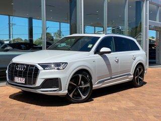 2020 Audi Q7 4M MY21 50 TDI Tiptronic Quattro S Line 8 Speed Sports Automatic Wagon