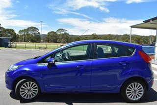2012 Ford Fiesta WT LX Blue 5 Speed Manual Hatchback