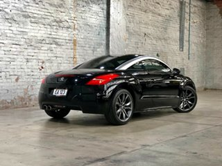 2012 Peugeot RCZ Black 6 Speed Sports Automatic Coupe