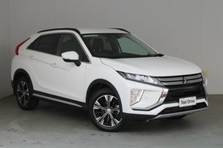 2019 Mitsubishi Eclipse Cross YA MY19 LS 2WD White 8 Speed Constant Variable Wagon.