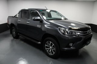 2018 Toyota Hilux GUN126R SR5 Double Cab Grey 6 Speed Sports Automatic Utility