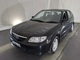 2003 Mazda 323 BJ II-J48 Astina Black 5 Speed Manual Hatchback.