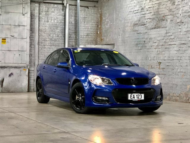 Used Holden Commodore VF II MY17 SV6 Mile End South, 2017 Holden Commodore VF II MY17 SV6 Blue 6 Speed Sports Automatic Sedan