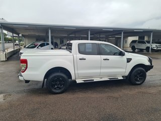 2015 Ford Ranger PX XL White 6 Speed Automatic Dual Cab.