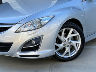 2010 Mazda 6 GH1052 MY10 Luxury Sports Silver 5 Speed Sports Automatic Hatchback