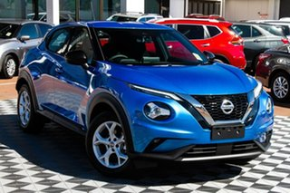 2020 Nissan Juke F16 ST+ DCT 2WD Vivid Blue 7 Speed Sports Automatic Dual Clutch Hatchback