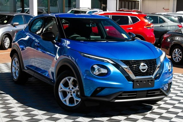 New Nissan Juke F16 ST+ DCT 2WD Melville, 2020 Nissan Juke F16 ST+ DCT 2WD Vivid Blue 7 Speed Sports Automatic Dual Clutch Hatchback