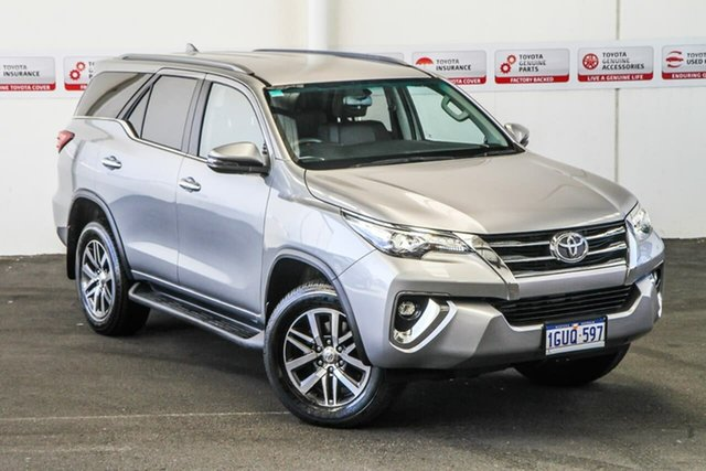 Pre-Owned Toyota Fortuner GUN156R Crusade Myaree, 2019 Toyota Fortuner GUN156R Crusade Silver Sky 6 Speed Automatic Wagon