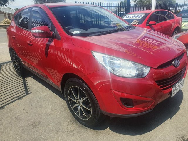 Used Hyundai ix35 LM MY11 Active Morphett Vale, 2010 Hyundai ix35 LM MY11 Active Red 6 Speed Sports Automatic Wagon