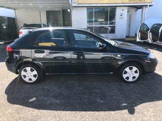 2006 Holden Viva JF Black 5 Speed Manual Hatchback.