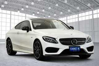 2017 Mercedes-Benz C-Class C205 807+057MY C43 AMG 9G-Tronic 4MATIC White 9 Speed Sports Automatic.