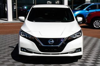 2020 Nissan Leaf ZE1 Arctic White 1 Speed Automatic Hatchback.