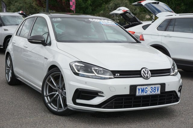 Used Volkswagen Golf 7.5 MY18 R DSG 4MOTION Wolfsburg Edition Phillip, 2017 Volkswagen Golf 7.5 MY18 R DSG 4MOTION Wolfsburg Edition White 7 Speed