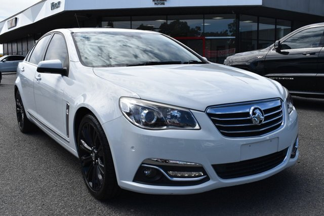 Used Holden Calais VF MY14 V Wantirna South, 2013 Holden Calais VF MY14 V White 6 Speed Sports Automatic Sedan