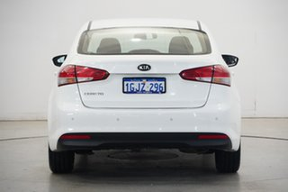 2017 Kia Cerato YD MY18 S Clear White 6 Speed Sports Automatic Sedan