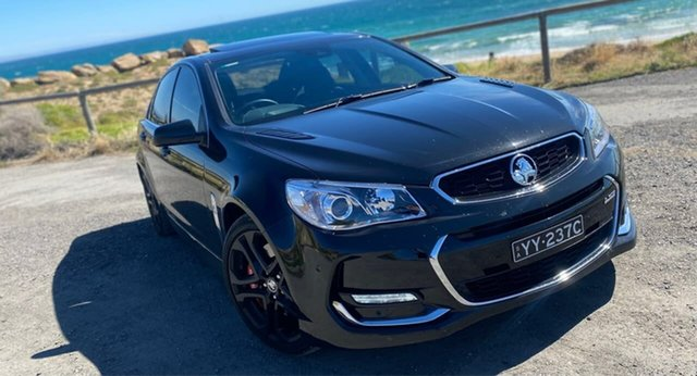 Used Holden Commodore VF II MY16 SS V Redline Christies Beach, 2015 Holden Commodore VF II MY16 SS V Redline Black 6 Speed Sports Automatic Sedan