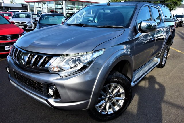 Used Mitsubishi Triton MQ MY17 GLS Double Cab Seaford, 2016 Mitsubishi Triton MQ MY17 GLS Double Cab Silver 5 Speed Sports Automatic Utility