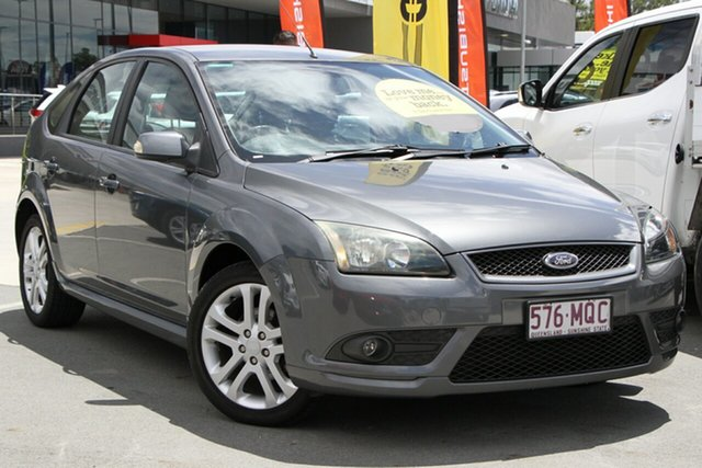 Used Ford Focus LT Zetec Aspley, 2008 Ford Focus LT Zetec Grey 5 Speed Manual Hatchback