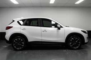 2016 Mazda CX-5 KE1022 Akera SKYACTIV-Drive i-ACTIV AWD White 6 Speed Sports Automatic Wagon