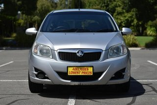 2008 Holden Barina TK MY09 Silver 4 Speed Automatic Hatchback.