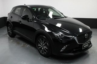 2016 Mazda CX-3 DK2W7A sTouring SKYACTIV-Drive Black 6 Speed Sports Automatic Wagon