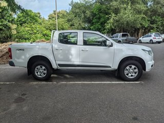 2015 Holden Colorado RG MY15 LT Crew Cab White 6 Speed Manual Utility.