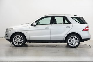 2012 Mercedes-Benz M-Class W166 ML250 BlueTEC 7G-Tronic + Silver 7 Speed Sports Automatic Wagon.