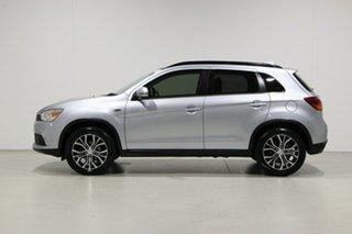 2017 Mitsubishi ASX XC MY17 XLS (2WD) Silver Continuous Variable Wagon