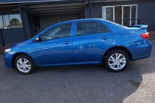 2013 Toyota Corolla ZRE152R Ascent Sport Tidal Blue 4 Speed Automatic Sedan.