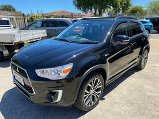 2015 Mitsubishi ASX XB MY15.5 XLS 2WD Black 6 Speed Constant Variable Wagon.