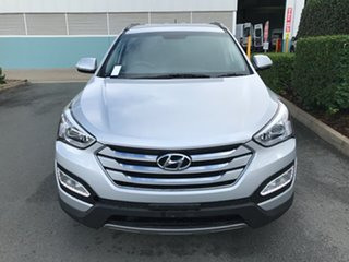 2015 Hyundai Santa Fe DM2 MY15 Active Silver 6 speed Automatic Wagon.