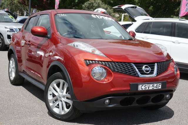 Used Nissan Juke F15 MY14 ST-S 2WD Phillip, 2014 Nissan Juke F15 MY14 ST-S 2WD Red 6 Speed Manual Hatchback
