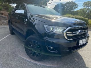 2020 Ford Ranger PX MkIII 2020.7 XLT Shadow Black 10 Speed SMF Double Cab Pick Up.