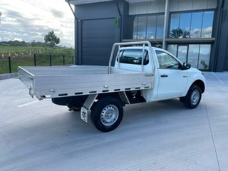 2016 Mitsubishi Triton MQ MY17 GLX 4x2 White 5 Speed Manual Cab Chassis