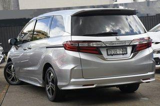 2016 Honda Odyssey RC MY16 VTi-L Silver 7 Speed Constant Variable Wagon.
