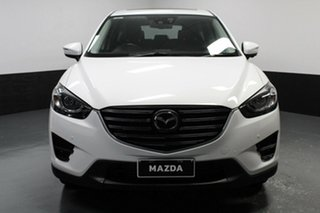 2016 Mazda CX-5 KE1022 Akera SKYACTIV-Drive i-ACTIV AWD White 6 Speed Sports Automatic Wagon.