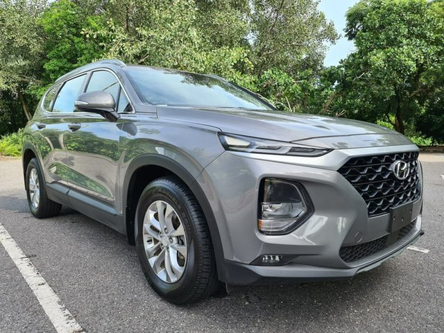 Used Hyundai Santa Fe TM MY19 Active Stuart Park, 2019 Hyundai Santa Fe TM MY19 Active Grey 8 Speed Sports Automatic Wagon