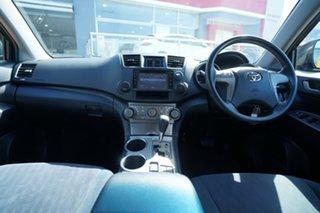 2007 Toyota Kluger GSU40R Grande (FWD) Black 5 Speed Automatic Wagon