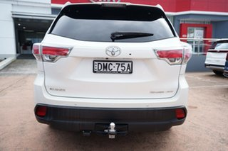 2016 Toyota Kluger GSU55R Grande (4x4) White 6 Speed Automatic Wagon