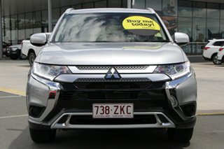 2019 Mitsubishi Outlander ZL MY20 ES 2WD Silver 6 Speed Constant Variable Wagon