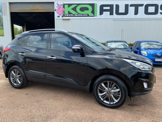 Used Hyundai ix35 LM3 MY14 Elite AWD Berrimah, 2014 Hyundai ix35 LM3 MY14 Elite AWD Black 6 Speed Sports Automatic Wagon
