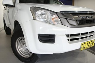 2015 Isuzu D-MAX TF MY15 SX (4x2) White 5 Speed Automatic Space Cab Utility.