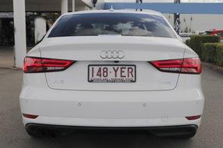 2018 Audi A3 8V MY18 S Tronic Ibis White 7 Speed Sports Automatic Dual Clutch Sedan